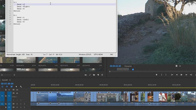 Kurztipp: Effizientes Sichten von Clips in Premiere Pro